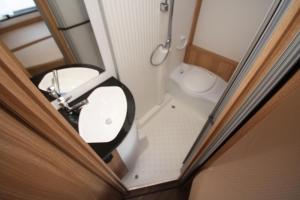 Dethleffs 5901 Toiletruimte